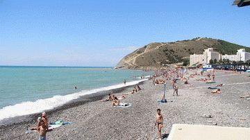 Частный сектор Сукко - пляж
