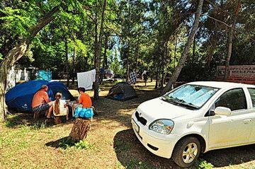 Автокемпинг на курорте Анапа