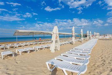 Пляж отеля Олимп в Джемете