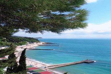 Пляж санатория Ай-Петри в Крыму