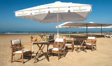 Пляж отеля «Дюны Золотые»