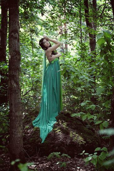 Как сделать красивые в лесу летом