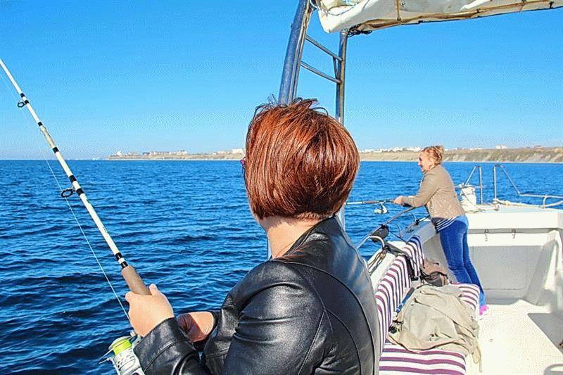 рыбалка в анапе на море с берега видео