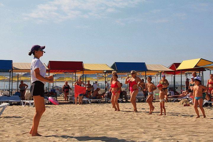 фото пляж санаторий родник анапа здесь
