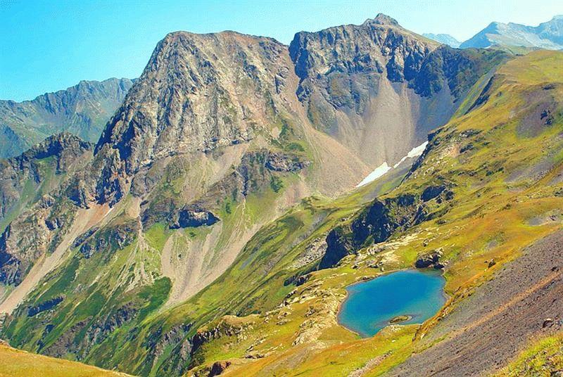 Горы Краснодарского края Горы в Краснодарском крае