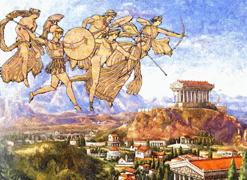Доклад на тему античная мифология 2211