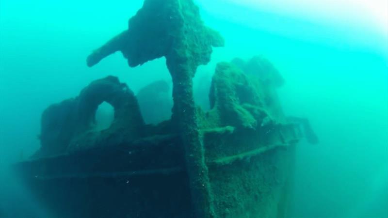 Затонувший корабль «Гордипия» в Анапе