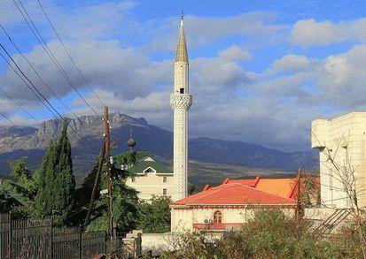 Мечеть в Алуште