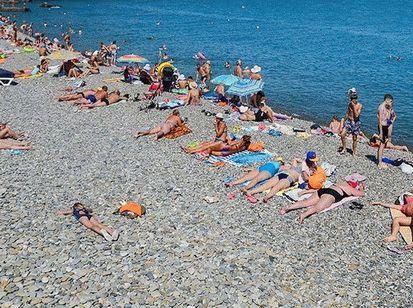 Пляж Приморский в Сочи