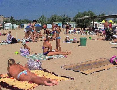 Пляжи в Евпатории