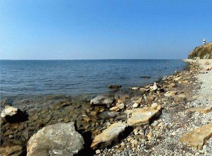 Каменистые пляжи курорта Анапа