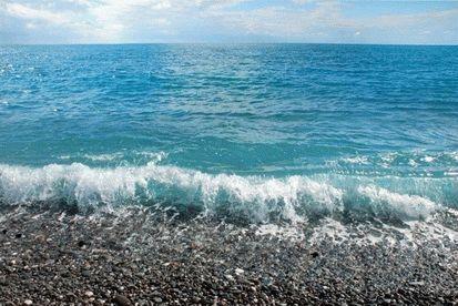 Пляж в районе Мамайки