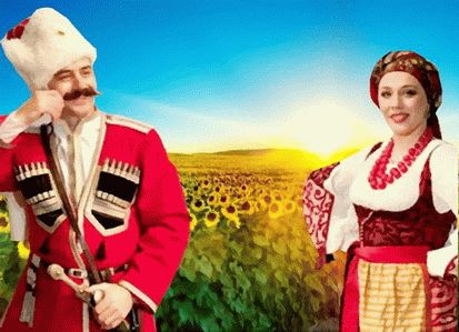 Одежда жителей Кубани