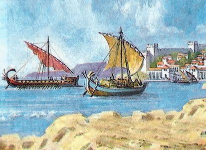 Греческие колонии на Черном море