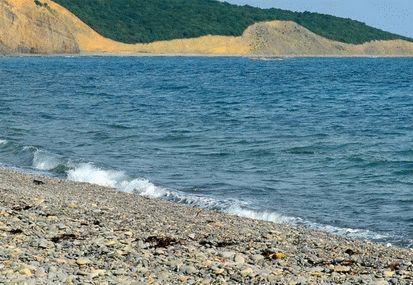 Пляж Малого Утриша