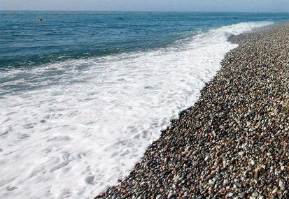 Пляж в Уч-Дере