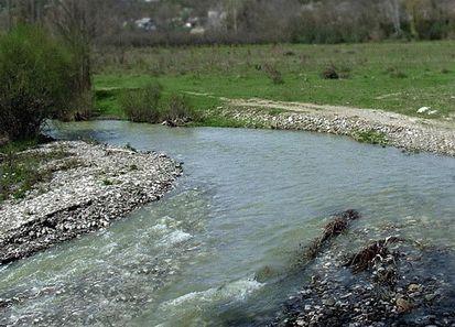 Река Кача в Крыму