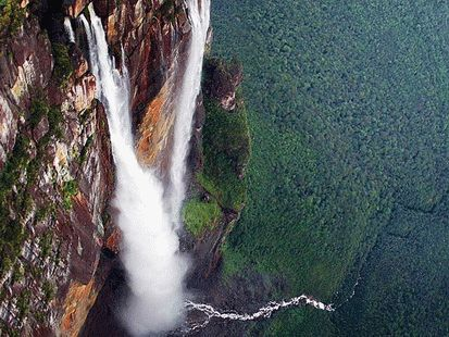 Самый высокий водопад России