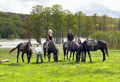 Конные прогулки в Анапе
