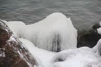 На море в Анапе в январе