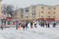 Город Анапа в январе