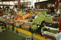 Казачий рынок в городе Анапа