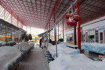 Казачий рынок в г. Анапа зимой