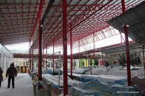 Казачий рынок в Анапе зимой