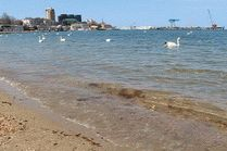 Море Анапы в мае