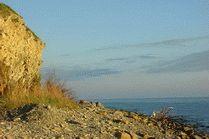 Анапа каменистый пляж