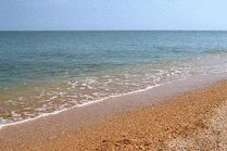 Пляж косы Долгая