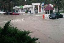 Разгул водной стихии в Анапе