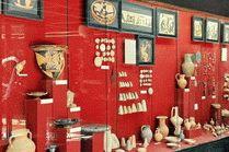 Экспозиция таманского археологического музея