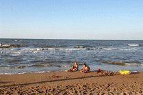 Пляж в Кучугурах