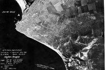 Аэро съемка Анапы немецкими летчиками в годы войны