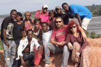 Африканская деревня в Конго