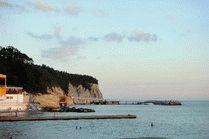 Пляжи Дивноморское