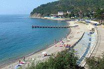 Голубая бухта пляж