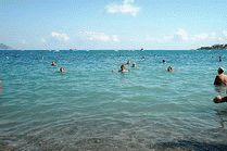Отдых на пляже Кабардинки