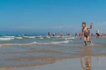 Песчаный пляж Джемете