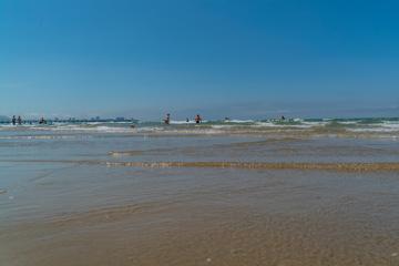 Пляж курортного поселка Джемете