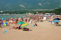 Пляжи Геленджика на фото