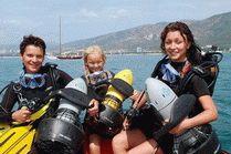 Подводный клуб Морской кот в Геленджике