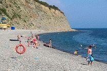 Пляж Широкая балка