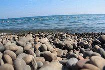 Пляж в Широкой балке