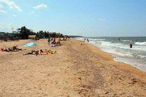 Фото пляжа в Голубицкой