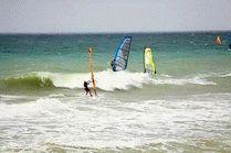 Виндсерфинг в Голубицкой на Азовском море