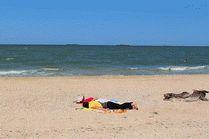 Дикий пляж Голубицкая