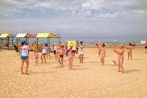 Санаторий с собственным пляжем в Анапе