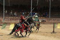Рыцарский турнир в курортном Сукко